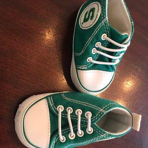 Michigan state crib shoes